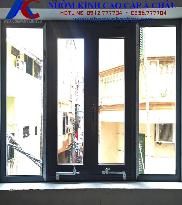 cửa sổ nhôm việt pháp hệ 450